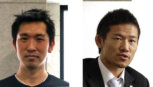 HIIT GYM 赤坂 オーナー 堀 鉄平氏(写真右) 同 マネージャー 椎名 優氏(写真左)