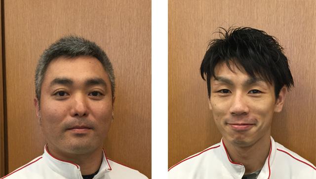セサミスポーツクラブ三鷹 チーフ・インストラクター 吉岡達也氏(写真左) 同 インストラクター 提箸弘幸氏(写真右)