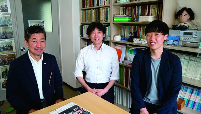 左から、鉃矢悦朗氏、鈴木 聡氏、田嶌大樹氏